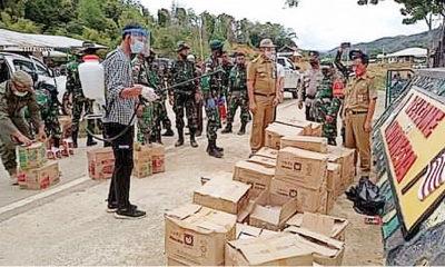 Respon permintaan Bupati Nunukan, Malaysia suplai 120 ton sembako ke Krayan.