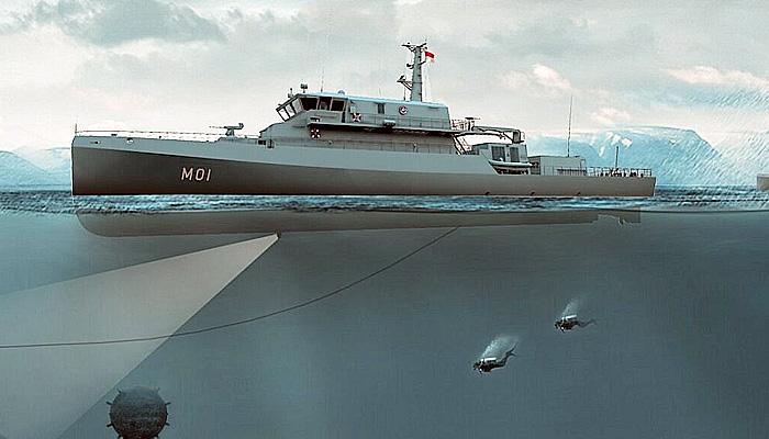 TNI Angkatan Laut akan dapat tambahan dua kapal penyapu ranjau canggih buatan Jerman.