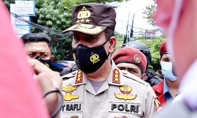 Kepala BNPT tinjau lokasi bom bunuh diri di Makassar.