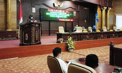 Realisasi anggaran penanganan Covid-19 di Nunukan Tahun 2020 sebesar Rp 61,55 miliar.