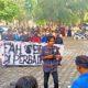 KPMA demo kebijakan Dekan Fakultas Adab dan Humaniora (FAH) UIN Ar-Raniry yang tidak netral dalam pemilihan ketua organisasi mahasiswa