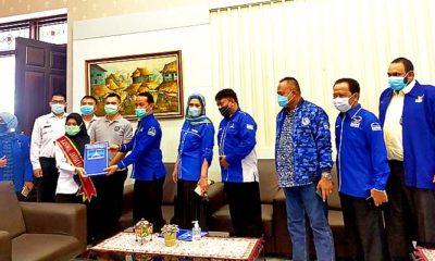 atangi Kanwil Kemenkum HAM, Demokrat Jatim minta KLB Deli Serdang tidak disahkan.