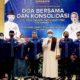 Gelar doa bersama dan lonsolidasi, Demokrat Surabaya mengetuk langit untuk kuat dukungan ke AHY.