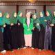 Bupati beri sambutan dalam acara Pelantikan HMI Cabang Nagan Raya