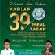 eringatan Harlah Ke-39 Ikbal Tabah: Perkuat Solidaritas Alumni untuk Kebangkitan Ekonomi Pesantren.
