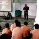 Pesan Pabung Kodim 0101/BS kepada siswa-siswi SMA Negeri 7 Banda Aceh.