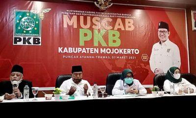 Persiapan personel hadapi Pemilu 2024, PKB Jatim gelar Muscab serentak Se Jatim.
