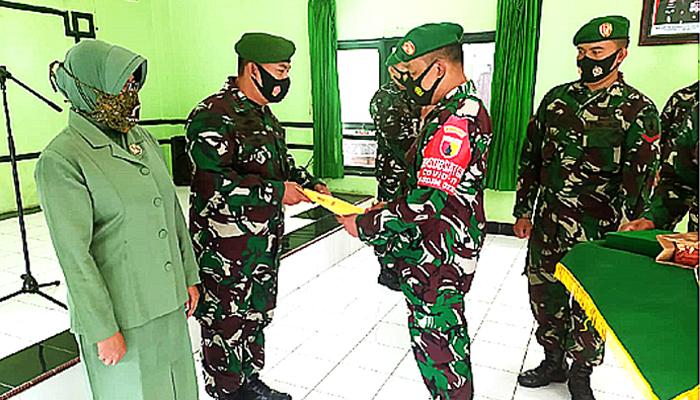 3 Perwira Kodim Surabaya Utara duduki jabatan baru.