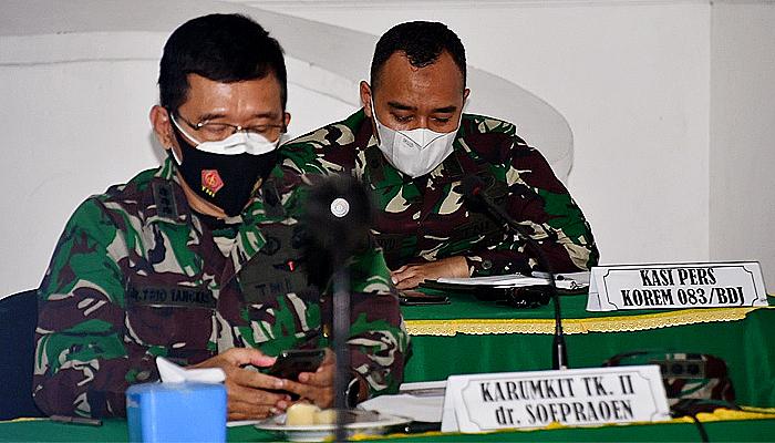 Rakornis TNI bidang personel, Kasipers Korem 083/BDJ: Semoga bisa meningkatkan kinerja personel.
