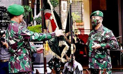 Kasad pimpin penyerahan jabatan Wakasad dan sertijab dua Pangdam serta Kadislitbangad.