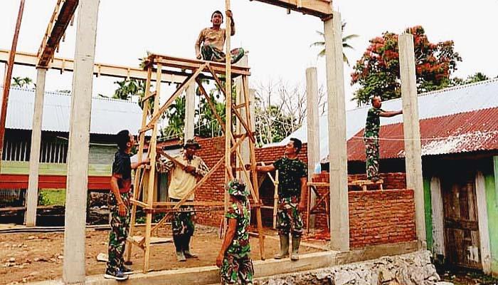 TMMD-110, pembangunan balai pengajian adalah wujud kepedulian TNI di bidang pendidikan Islam.