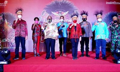 Wujudkan pemerataan akses internet, Telkom selenggarakan IndiHome wonderful Papua.