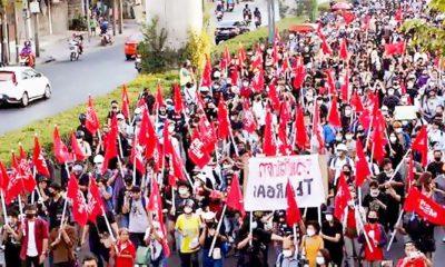 Istana Kerajaan Thailand tetap bungkam, aksi demo terus berlanjut.