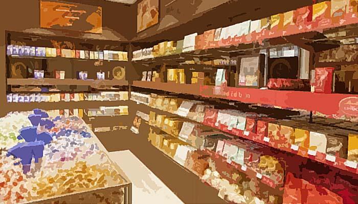 Toko Cokelat di Pasar Cilegon