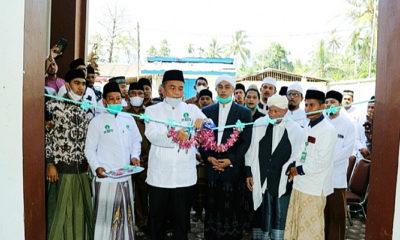 Wakil Bupati Pidie Jaya Resmian Klinik Al-Munawwarah