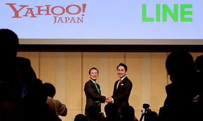 Merger Yahoo Japan dan LINE menjadi raksasa teknologi di Jepang.