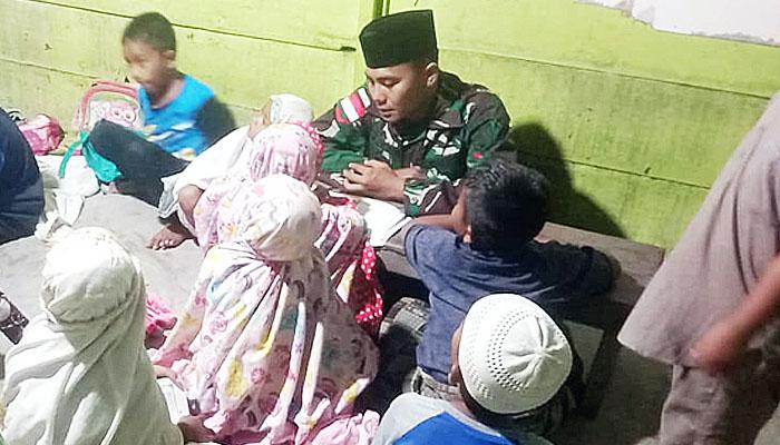 Di perbatasan Indonesia-Papua Nugini, TNI bukan cuma diwajibkan pandai berperang.