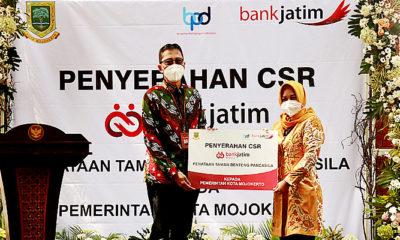 Bank Jatim Gelontor CSR ke Pemkot Mojokerto