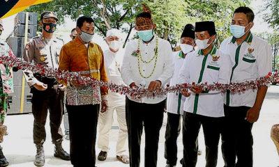 Tingkatkan ekonomi masyarakat, Bupati Ahmad Fauzi resmikan Rest Area