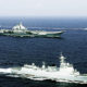 Group Serang Kapal Induk Cina Melintasi Provinsi Okinawa Jepang