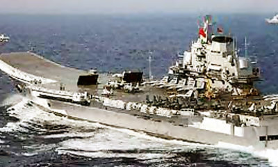 Group Serang Kapal Induk Cina Gelar Latihan di Perairan Dekat Taiwan