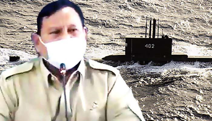Kapal Selam TNI AL dengan 53 awak hilang kontak.