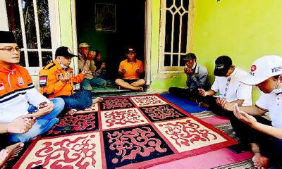 PKS Jatim gelar doa tahlil untuk korban meninggal gempa Malang.