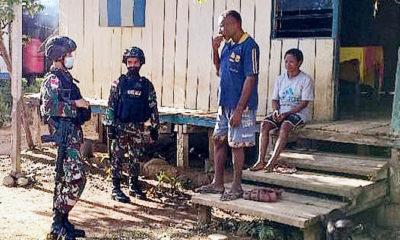 Persatukan seluruh kepala suku di perbatasan Indonesia-Papua Nugini.