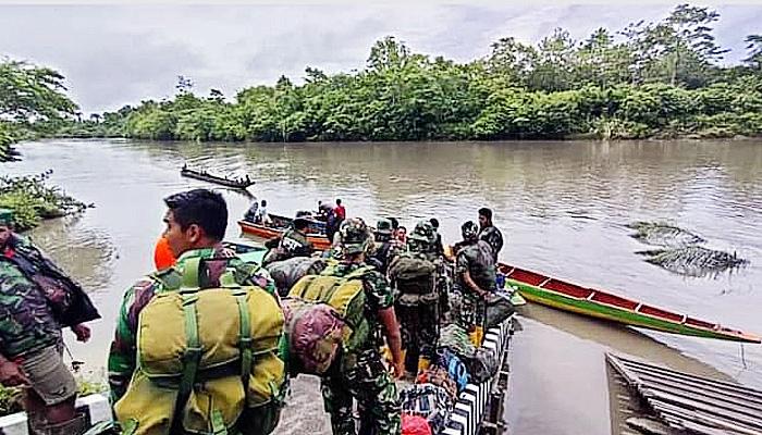 Setelah Dinyatakan Ditutup, Personil Satgas TMMD Kembali ke Homebase