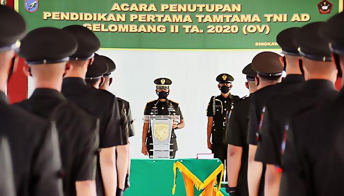 500 Prajurit Tamtama TNI AD resmi dilantik 0leh Pangdam XII/Tpr.