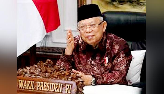 Wakil Presiden Prof. KH. Ma'ruf Amin ingatkan Civitas UNKRIS pentingnya Toleransi Sebagai Instrumen SDM