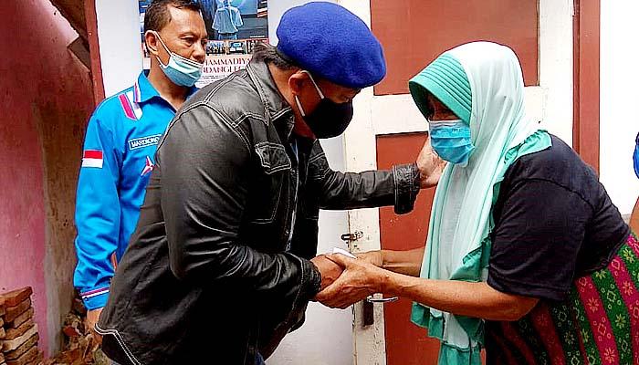 Kirim 2 ton paket bantuan, Demokrat Jatim kirim bantuan kemanusiaan korban gempa di Malang.