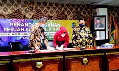 Pemkab Nunukan, DJP dan DJPK jalin kerjasama optimalisasi pemungutan pajak.