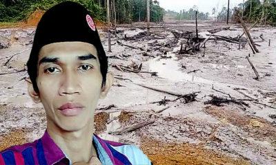 LNPPAN kecam romantisme gubernur Kaltara dengan penyebab tercemarnya sungai Malinau.