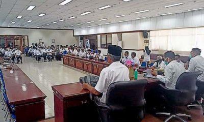Pemkab Nunukan gelar sosialisasi terkait penyederhanaan jabatan.