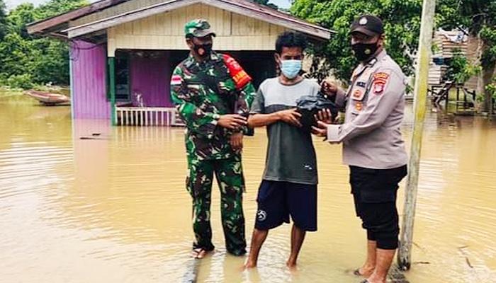 Banjir genangi 948 rumah di Nunukan.