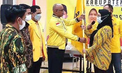 Siti Raudah akan pimpin DPD Partai Golkar Nunukan selama 5 tahun kedepan.