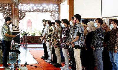 Pelantikan Pengurus KMPY, Baddrut Tamam: inilah tiga syarat jadi generasi hebat.