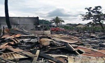 SLB Negeri Pembina Aceh Tamiang Berempati dan Memberi Santunan Kebakaran Rumah di Kota Lintang Bawah