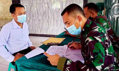 Warga Cianjur antusias ikut program KOMCAD (Komponen Cadangan) yang merupakan tindak lanjut dari program Kementerian Pertahanan berdasarkan UU No 23 tahun 2019