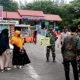 PPKM tingkat kecamatan, tegakkan protkes di Pelabuhan Ulee Lheu kecamatan Meuraxa.