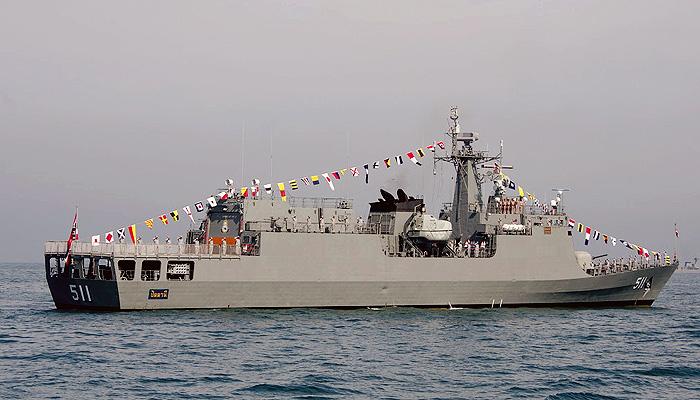 Aljazair pesan satu korvet siluman kelas Pattani buatan Cina.