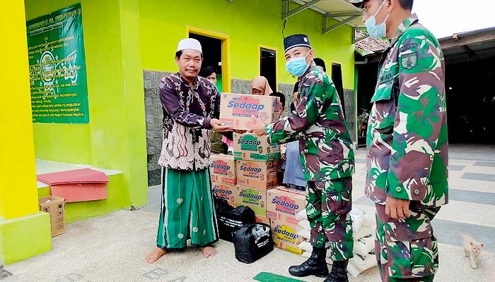 2 panti asuhan dapat bantuan dari Korem 082/CPYJ.