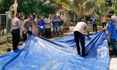 Akibat cuaca ekstrim, Desa Latitik di Simeulue banjir.