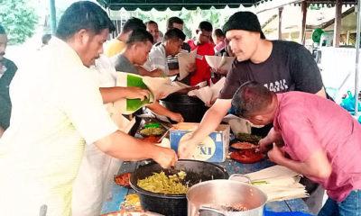 Acara meulumak di Gampong Rhieng Blang, Pidie Jaya.