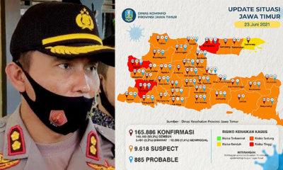 AKBP Darman Mengakhiri Tugas di Kapolres Sumenep Dengan Zona Kuning