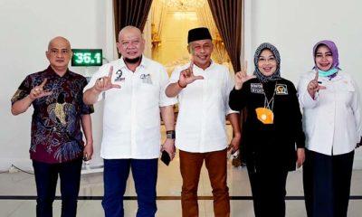 Ketua DPD RI kembali gaungkan pentingnya Amandemen ke-5 saat temui Bupati Giri.