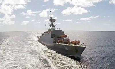 Ketika Kapal Perang Iran memasuki Samudra Atlantik.