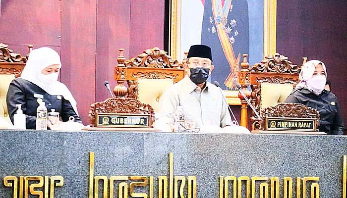 Dukungan penuh dari DPRD Jatim, realisasi pendapatan daerah Jatim tembus 104,94 persen.