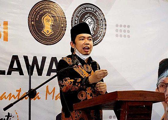 Ajari mahasiswa dan milenials cinta tanah air, Laskar Sholawat Nusantara Mahasiswa dideklarasikan.